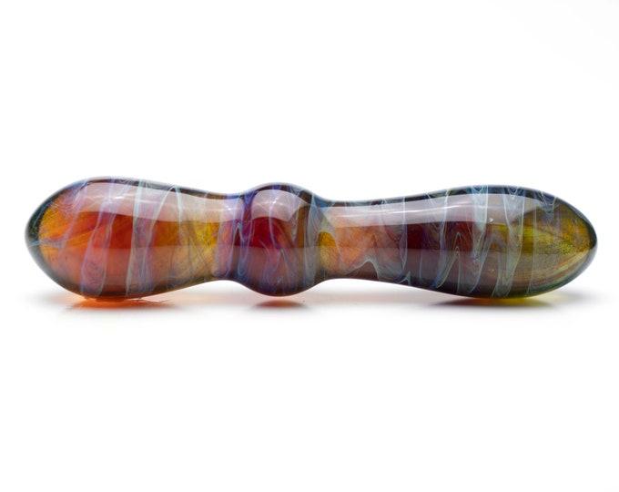 Glass Dildo - Rainbow Fade