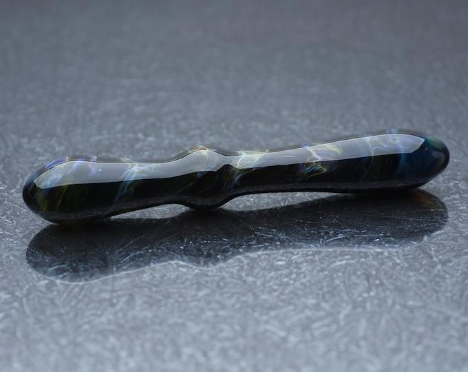 Glass Dildo - Obsidian