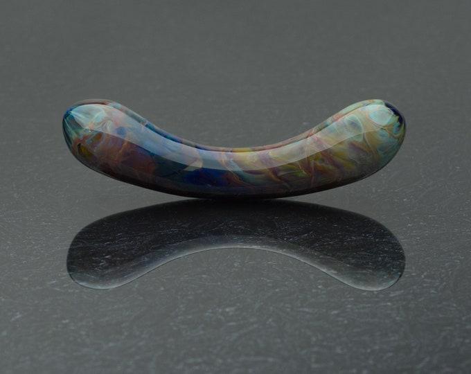 Glass Dildo - Nebula -Borosilicate Glass Sex Toy / Personal Massager by Simply Elegant Glass