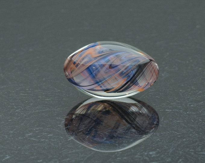 Glass Kegel Egg - Autumn Winds - Borosilicate Glass Egg by Simply Elegant Glass