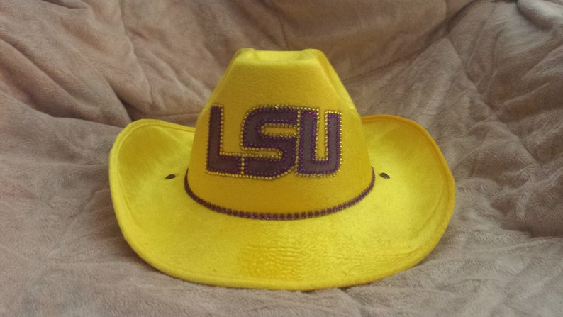 5198973b75333 LSU SPARKLE   BLING Cowboy Hat