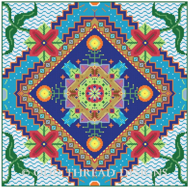 Odd Thread Designs SAL 2021 Kit image 0