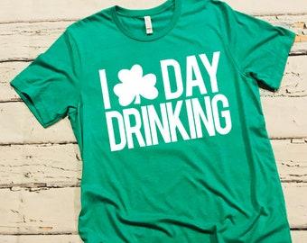 St. Patrick's Day Shirt; Shamrock Shirt; Funny St. Patrick's Shirt; I Love Beer Shirt; St. Patty's Day Shirt; St. Patrick's Day Drinking