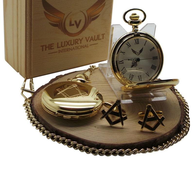 Brazalete masónica Masonería Gemelos Botón para Hombre Boda Accesorio Regalo vendedor del Reino Unido