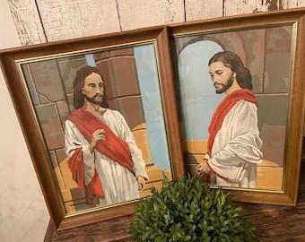 Vintage Jesus paintings