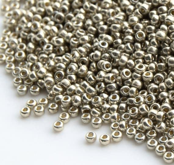 Miyuki Round Rocailles 11//0 Duracoat Galvanize 24KT Gold Seed Bead RR-191