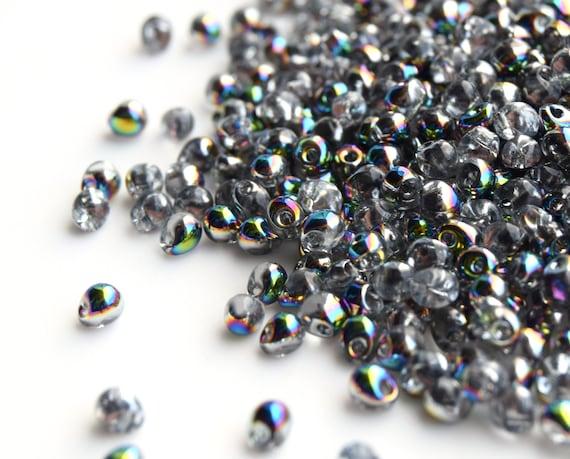 silver miyuki Drops Japanese beads Miyuki Drops 3.4mm Beads DP-55106 Crystal Labrador Full Matted