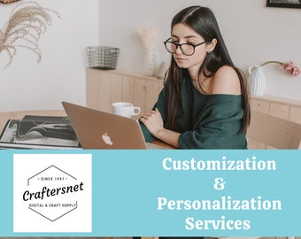 Digital Services/Customization/Personalization of Stationery & Digital Products