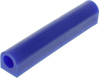 Blue Large Round Center Hole 6 x 5//8 Carvable Medium-Hard Wax Ring Tube Jewelry Making Tools RC-3