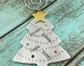 Christmas tree ornament, Christmas 2017, famil Christmas ornamemt, family Christmas tree, Christmas ornament gift, ornament present