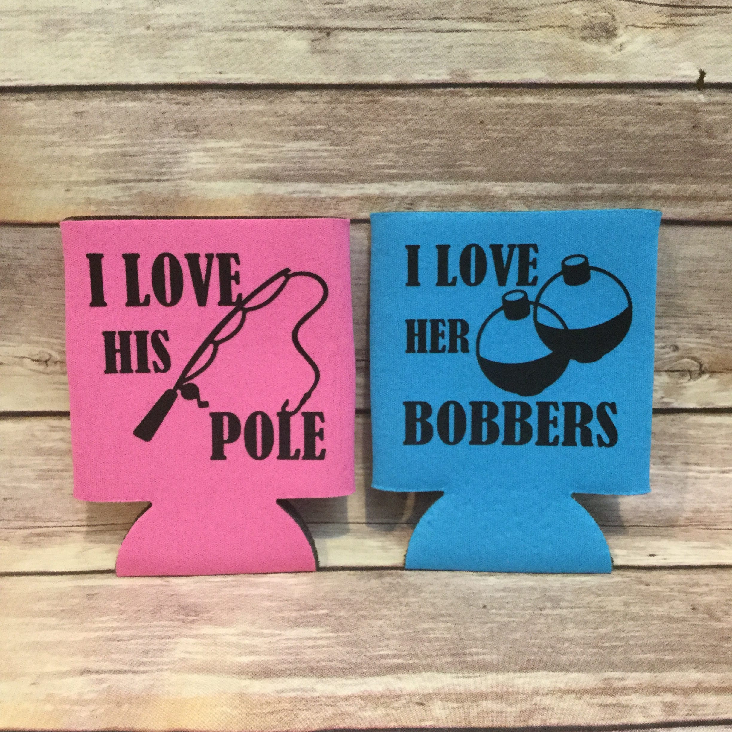 I Love His Pole I Love Her Bobbers Funny Fishing His and | Etsy