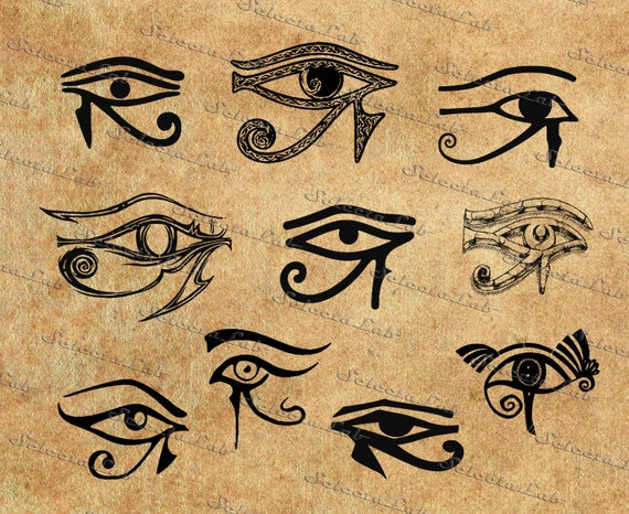 digital svg png eye of horus wadjet whole one all seeing etsy