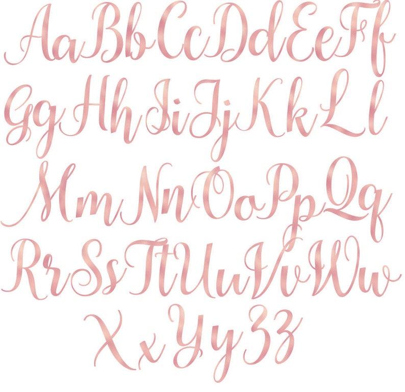 Pink Foil Alphabet PNG Letters cards invitationsrt Buy 3 for 9 USD Font Digital clipart Pink Alphabet Clip art
