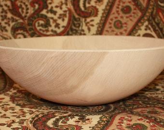 Unfinished Wood Bowl Etsy
