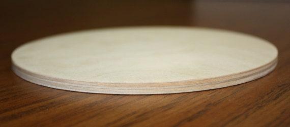 """Wooden//Madera Redondo Círculo MDF placa 12/"""" inacabado madera en blanco para la elaboración de"""