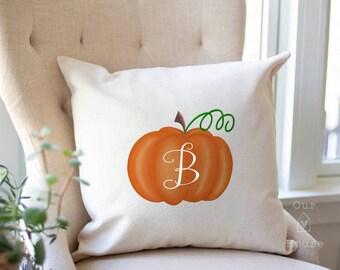Pumpkin Fall Pillow Cover - Fall Decor - Pumpkin Pillow Cover - Autumn Decor - Farmhouse Decor - Farmhouse Pillow