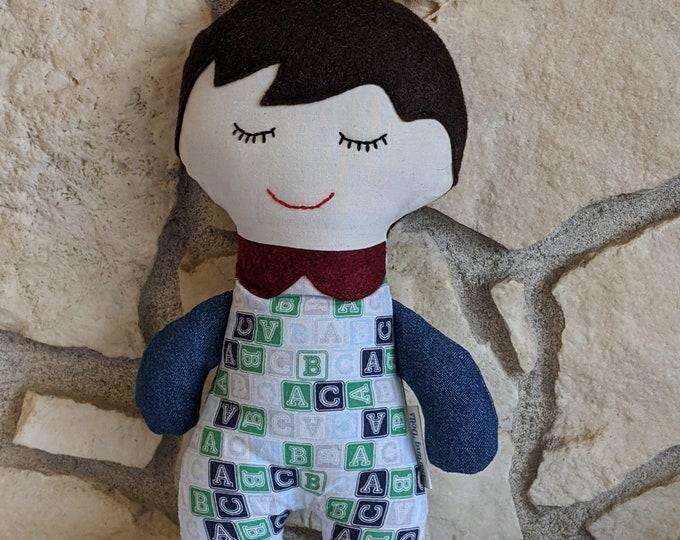 Classic Stuffed Baby Doll (boy)