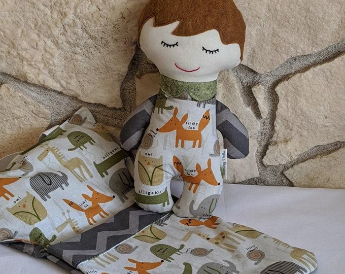 Baby Doll (boy) with Sleeping Bag