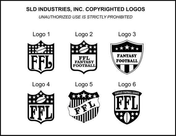 "Fantasy Football Award Lombardi Style 9 1//2/"" FREE Personalized Engraving"