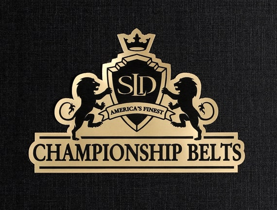 Darts Dart League Championship Belt Trophy Award Perpetual Personalized Fully Customizable Engraved