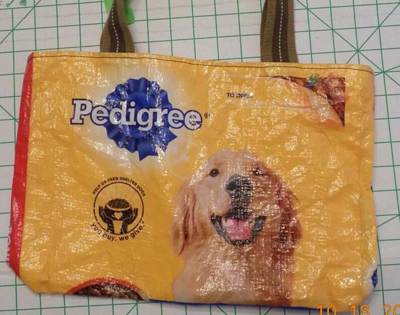 Dog BagTote BagMessenger BagDog ToteDog Feed BagPedigree Dog Food BagREADY TO SHIP