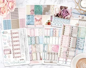 Sticker Kit / Shabby Chic Stickers /Planner Stickers / Erin Condren / Happy Planner / Life Planner / Weekly Spread / Passion Planner