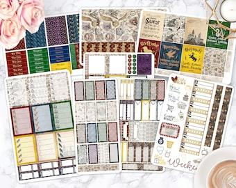 Sticker Kit / Wizard Stickers  / Planner Stickers / Erin Condren / Happy Planner / Life Planner / Weekly Spread / Passion Planner