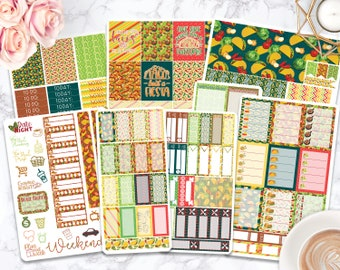 Sticker Kit / Taco Stickers / Taco Tuesday / Planner Stickers / Erin Condren / Happy Planner / Life Planner / Passion Planner