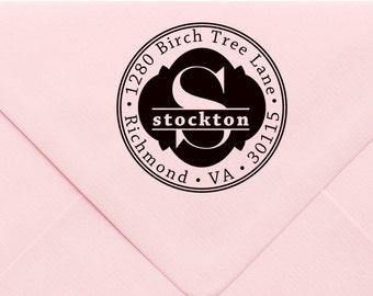 Custom Return Address Stamp, Wedding Address Stamp, Change of Address Stamp, Modern Address Stamp, Wedding Shower Gift, Teacher Gift 746