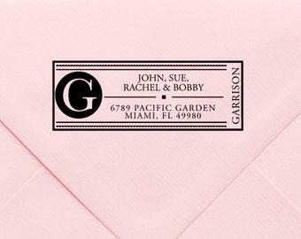Custom Return Address Stamp, Wedding Address Stamp, Change of Address Stamp, Modern Address Stamp, Wedding Shower Gift, Teacher Gift 575