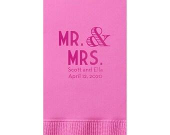 Wedding Napkins, Guest Towels, Monogram Guest Towels, Party Napkins, Custom Monogram, Monogram Napkin, Paper Napkin, Cocktail Napkins 30