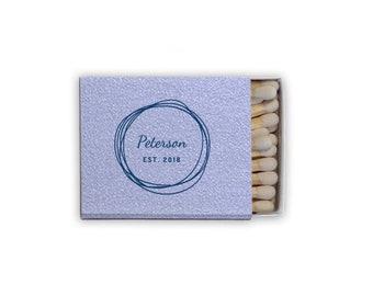 monogrammed matchbook, reception matches, wedding matches, sparkler send off matchbox, reception match book, cigar bar, matchbook, favor 270