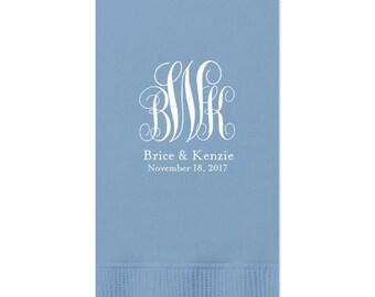 Fancy Monogram Guest Towels - tons of colors, Hand Towels, Custom Towels, Wedding Decor, Custom Wedding Gift, Bridal Shower Decoration 29