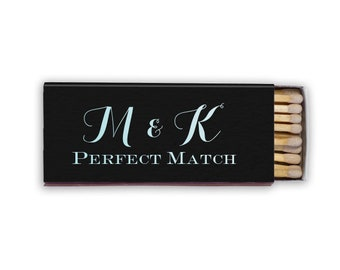 Custom Monogram Wedding Matches / Custom Matches / Personalized Matches / Wedding Favors / Candle Box Matches / Cigar Matches 223