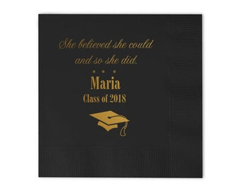 Graduation Party, Graduation Napkins, Personalized Napkin, lunch Napkin, class of 2019, Cocktail Napkin, dinner napkin, Party Napkins 229