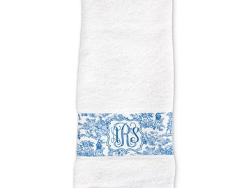Monogram Hand Towel, Monogram Dish Towel, Monogrammed Kitchen Accessories, Personalized Kitchen Towel, Monogrammed Gift, Shower Gift
