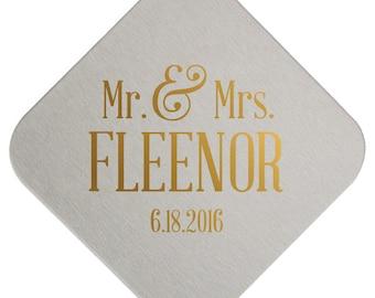 Custom Coasters, Wedding Coaster, Rustic Wedding, Floral Favors, Personalized Coaster, Bar Coaster, Custom Wedding Favors, Coaster, 33