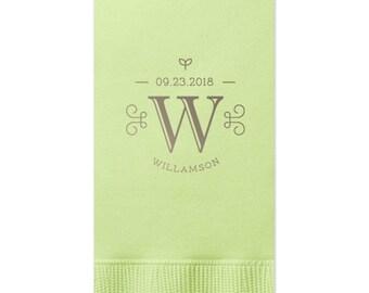 Custom Order - 100 Guest Towels - tons of colors, Hand Towels, Wedding Decoration, Custom Wedding Gift, Bridal Shower Decoration 298 Napkin