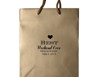 Wedding Welcome Bags, Out of Town Welcome Bags, Hotel Wedding Bags, Personalized Wedding Favor Bags, Wedding Guest Welcome Bags 129