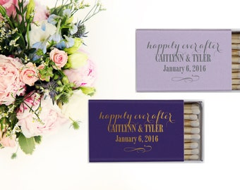 Custom Wedding Matches, Personalized Sparkler Matches, Custom Matchbook Wedding Favors, Custom Printed Matches, Cigar Bar 26