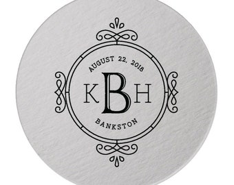 Custom Paper Coaster, Custom Drink Coaster, Paper Bar Coaster, Custom, Foil Coaster, Party Coaster, Wedding Favor, Save The Date Coaster 300