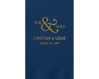 Monogram Guest Towels, Cheers Wedding Napkin, Party Napkins, Dinner Napkin, Monogram Napkin, Hand Towel, Paper Napkin, Cocktail Napkins 308