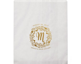 Custom Printed Party Favor Bags, Personalized Party Favor Bags, Printed Paper Bags, Custom Favor, Wedding Favor Bags, Custom Goodie Bag 294