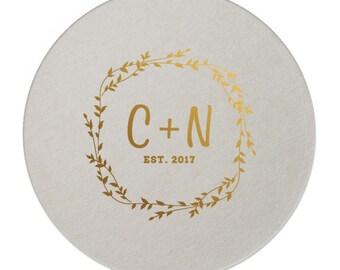 Wedding Coasters, Personalized Coasters, Custom Wedding Coasters, Custom Coaster, Wedding Favors, Personalized Wedding Favor, Coasters 269