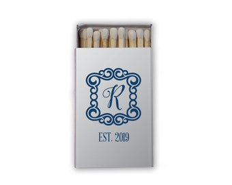 Custom Matches, Printed Matches, Monogrammed Matches, Wooden Matches, Box Matches, Reception Matches, Sparkler Matches, wedding Favors 283