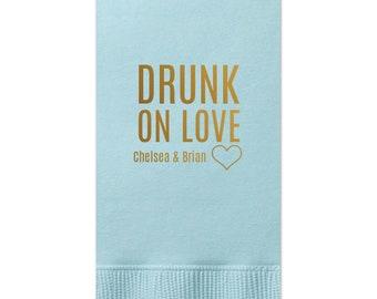 Guest Towels - tons of colors, Hand Towels, Bath Towels, Custom Towels, Drunk, Wedding Decoration, Custom Wedding Gift, Bridal Shower 8