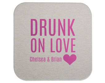 Wedding Coasters, Personalized Coasters, Custom Wedding Coasters, Custom Coaster, Wedding Favors, Personalized Wedding Favor, Coasters, 8