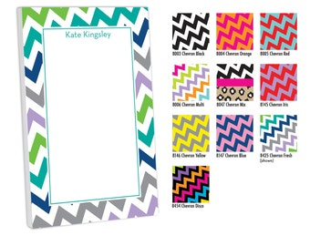 Custom Name Notepad, Notepad with Name, Personalized Memo Pad, Custom Notepad, Monogrammed Stationery, Preppy gift, Monogram Notepad, Lilly