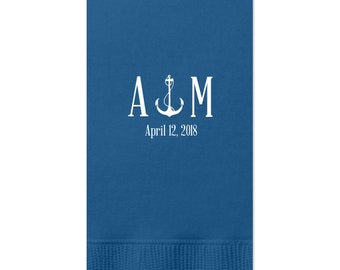 Anchor Guest Towels - tons of colors, Hand Towels, Bath Towels, Custom Towels Wedding Decoration, Custom Wedding Gift, Bridal Shower 17