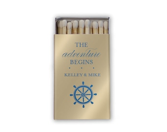 Personalized Sparkler Send off Wedding Matches, Custom Wedding Matchboxes, Personalized Wedding Favor, Sparkler Matches, Bar Matches 5